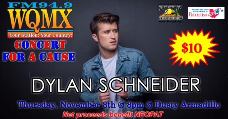 WQMX Charity Concert Dylan Schneider
