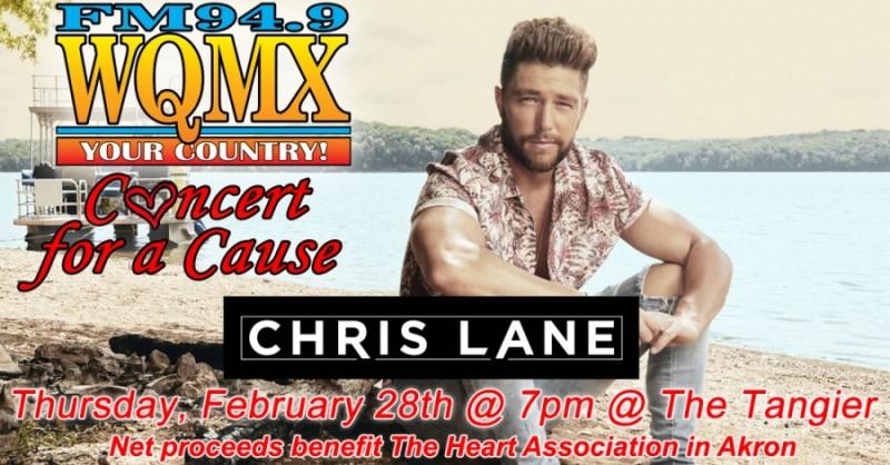 WQMX Charity Concert Chris Lane